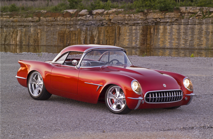 Barrett-Jackson countdown: Custom 1954 Chevrolet Corvette convertible