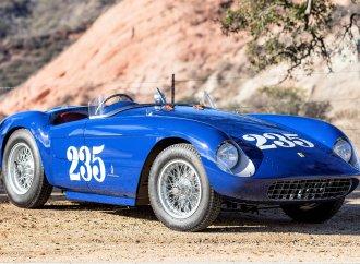 Famed '54 Ferrari Mondial Spyder set for Bonhams Arizona auction