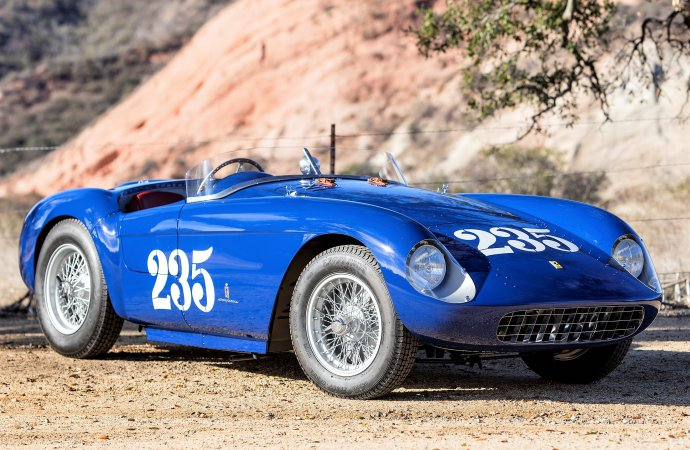 Famed '54 Ferrari Mondial Spyder set for Bonhams Arizona auction