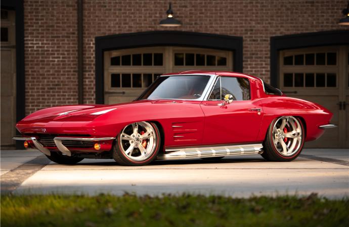 Barrett-Jackson countdown: 1963 Chevrolet Corvette custom split-window