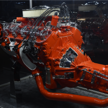 Barrett-Jackson countdown: 1965 Chevrolet Corvette engine cutaway display