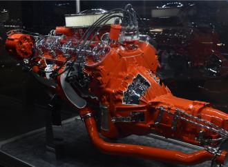 Barrett-Jackson countdown: 1965 Chevrolet Corvette engine cutaway display