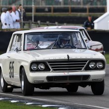 Vintage-raced Studebaker Lark heads to auction