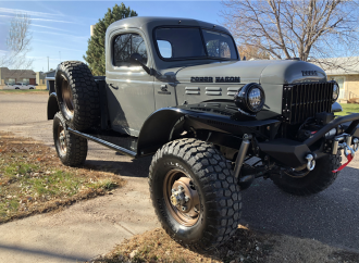Barrett-Jackson countdown: Custom 1967 Dodge Power Wagon pickup