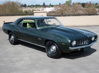 Barrett-Jackson countdown: 1969 Chevrolet Camaro COPO