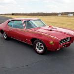 1969 PONTIAC GTO JUDGE RAM AIR III barrett-jackson