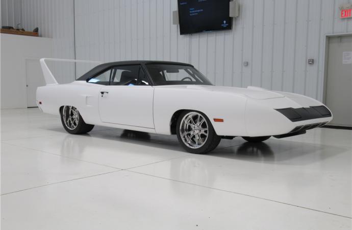 Barrett-Jackson countdown: 1970 Plymouth Satellite Superbird re-creation