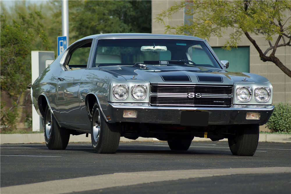 This 1970 Chevrolet Chevelle LS6 will be offered at the Barrett-Jackson Scottsdale auction. | Barrett-Jackson photos