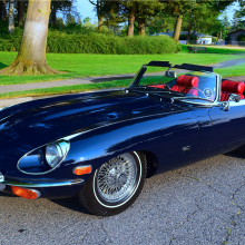 Barrett-Jackson countdown: 1971 Jaguar XKE Series II roadster