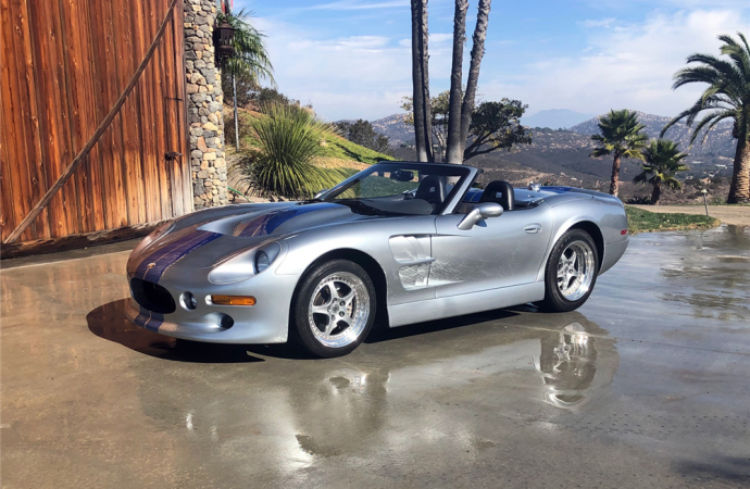Barrett-Jackson countdown: 1999 Shelby Series 1 convertible