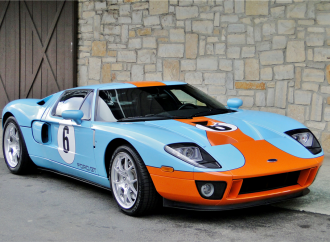 Barrett-Jackson countdown: 2006 Ford GT Heritage Edition