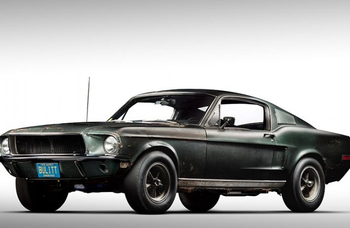 This was the year of the Steve McQueen 'Bullitt' Mustang