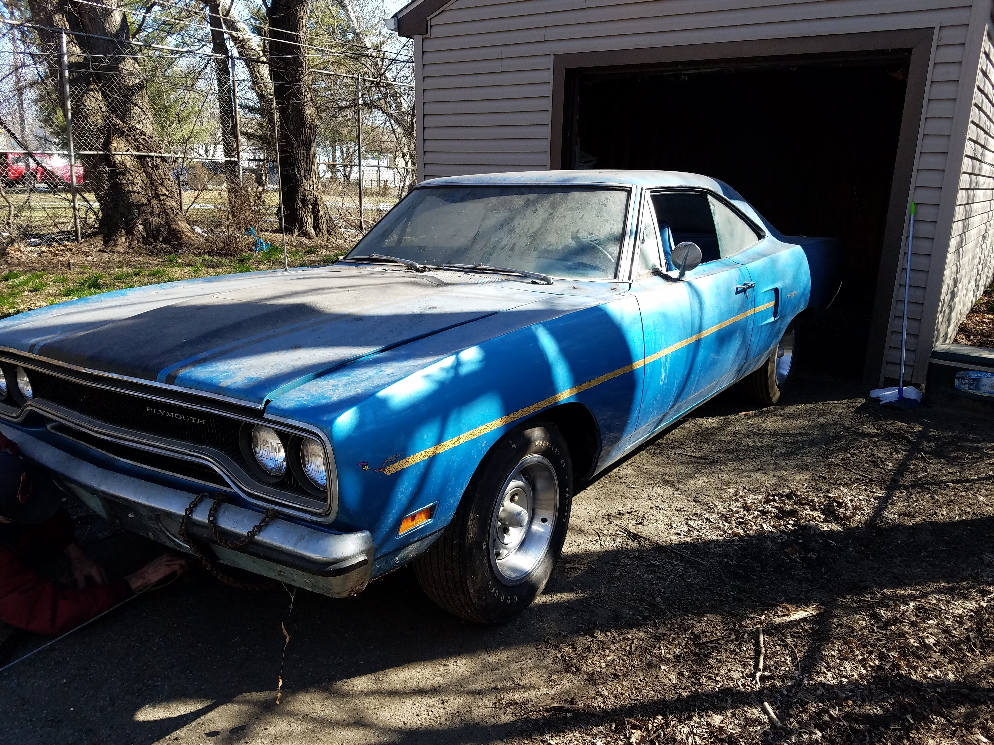 This 1970 Road Runner may be the lowest-mileage example of such a vehicle in existence. It was found by a collector in an Ohio garage. | Eric VanDamia photos