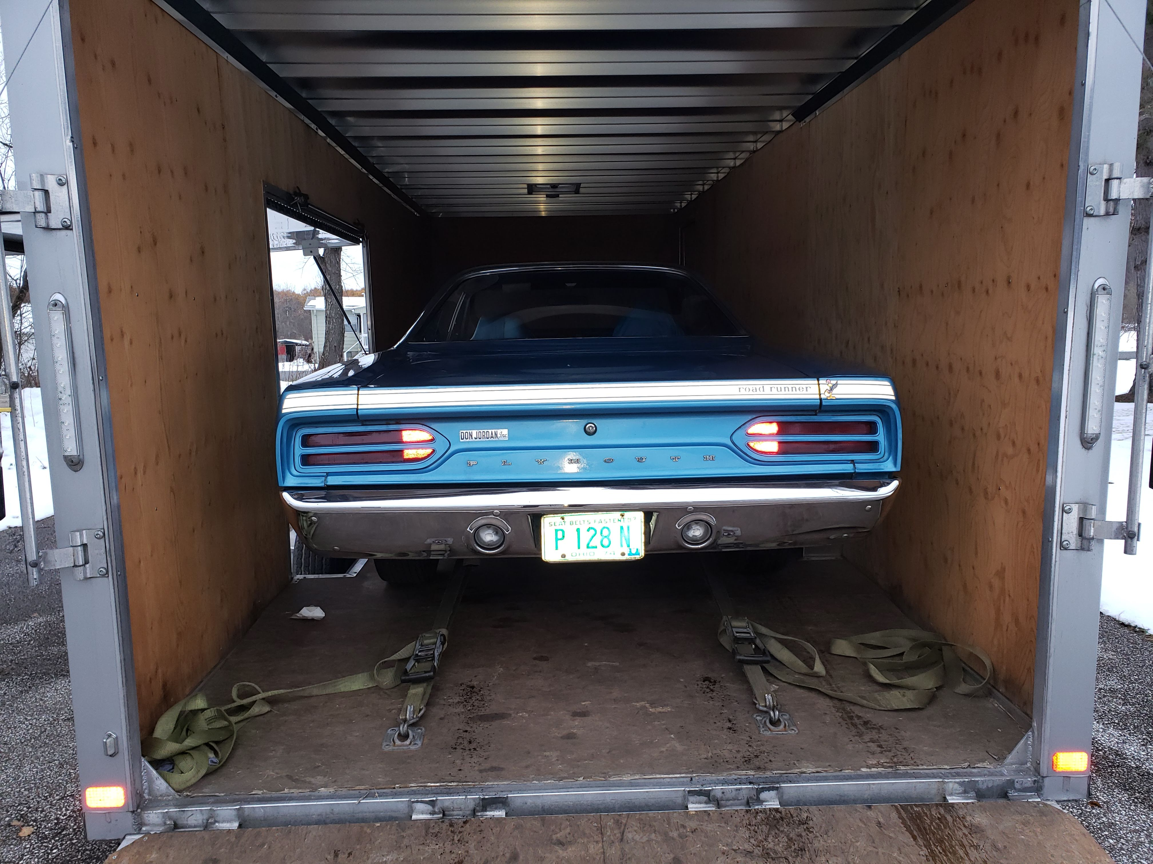 This 1970 Road Runner may be the lowest-mileage example of such a vehicle in existence. It was found by a collector in an Ohio garage.   Eric VanDamia photos