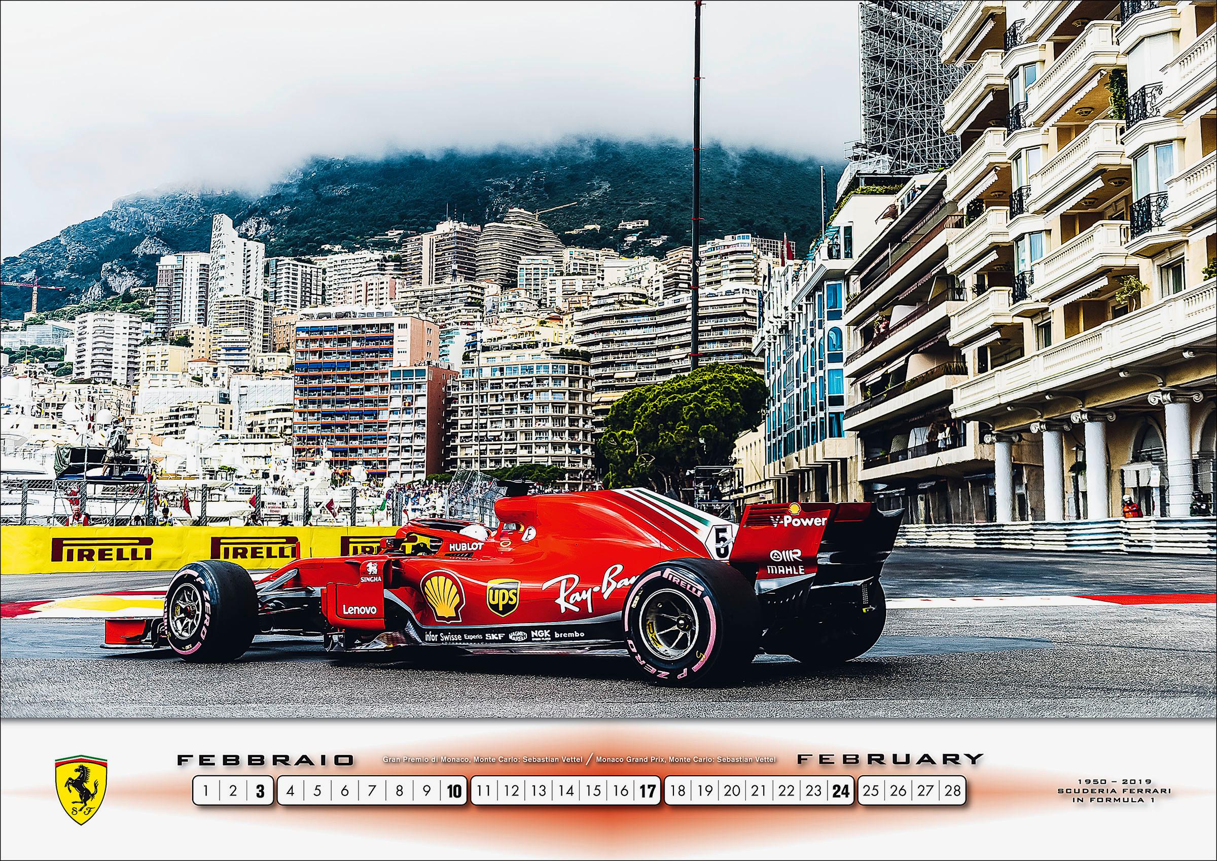Ferrari, 2019 Ferrari calendar includes sounds and smells, ClassicCars.com Journal