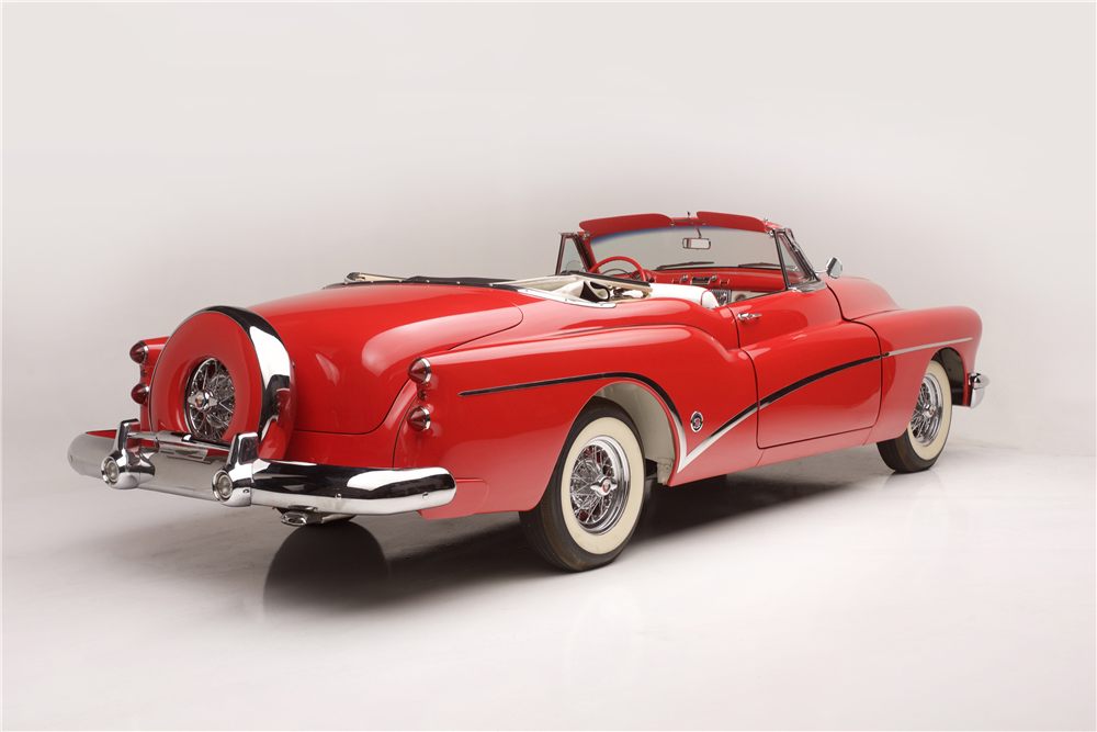 This 1953 Buick Skylark, a highlight of American car design, will be offered by Barrett-Jackson at its upcoming January auction in Scottsdale, Arizona.   Barrett-Jackson photos