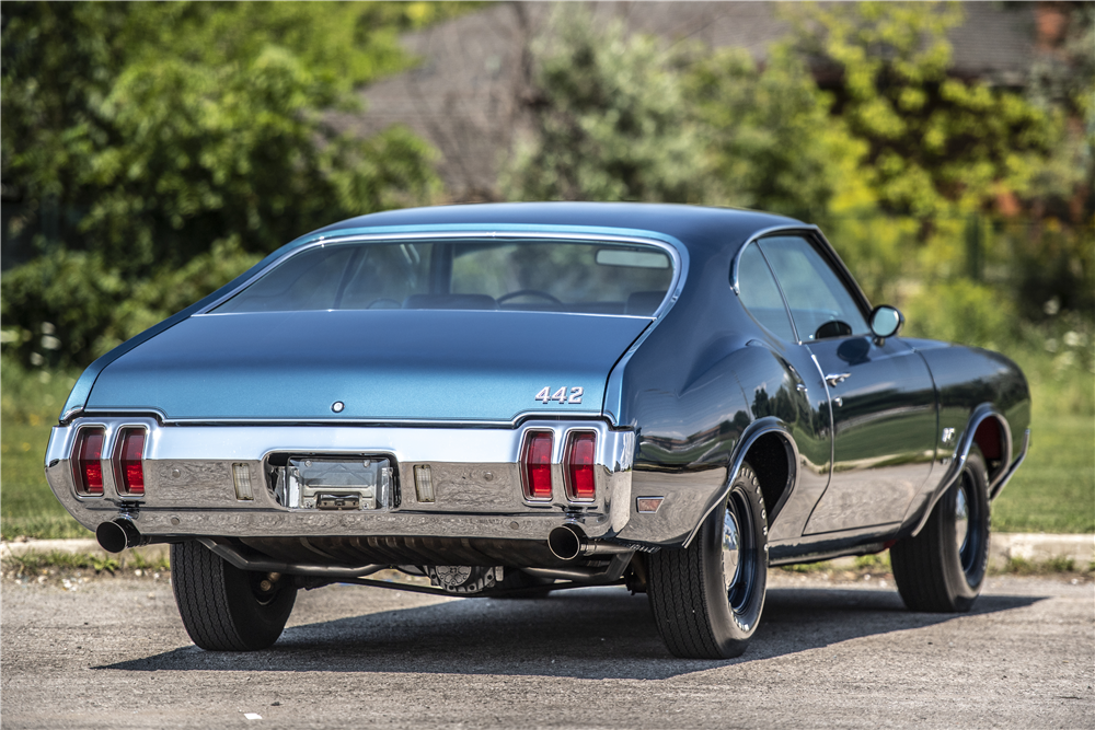 This 1970 Oldsmobile 442 W-30 will be offered by Barrett-Jackson at its upcoming January auction in Scottsdale, Arizona. | Barrett-Jackson photo