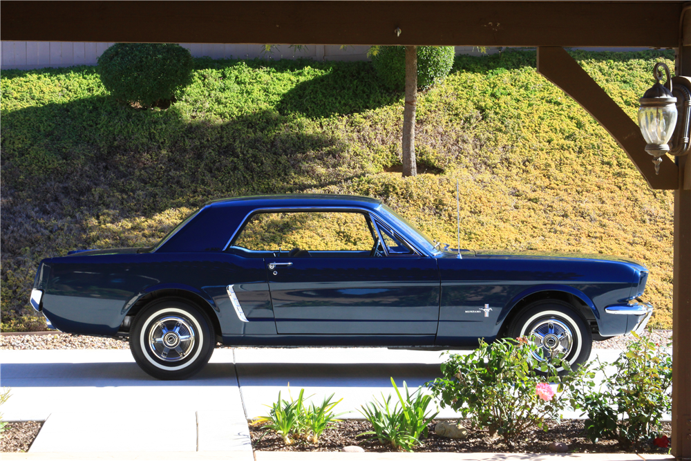 This 1965 Ford Mustang -- the first pre-production hardtop -- will be offered by Barrett-Jackson in Scottsdale in January. | Barrett-Jackson photos