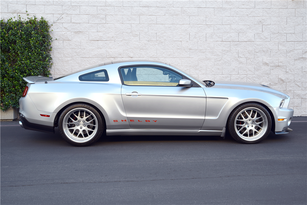 Carroll Shelby's final vision: this low-mileage 2012 Ford Shelby 1000 is heading to the 2019 Scottsdale Auction.   Barrett-Jackson photos