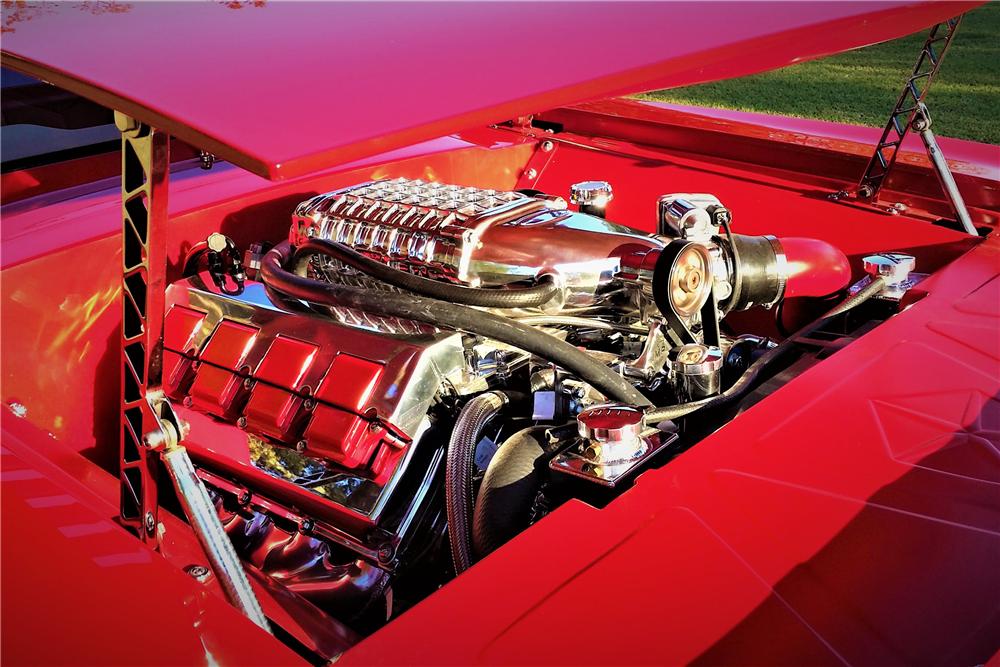 This custom 1971 Plymouth Barracuda will be on the Barrett-Jackson auction block next month.   Barrett-Jackson photos