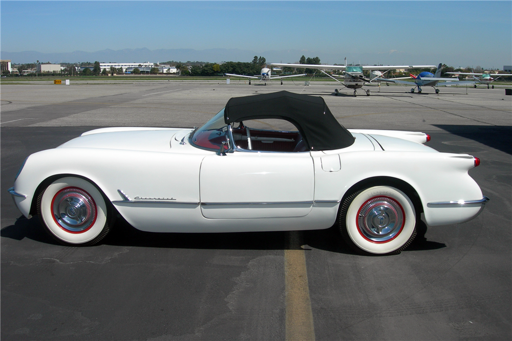 This example of America's first sports car, the 1953 Chevrolet Corvette, will be offered by Barrett-Jackson at the Scottsdale sale. | Barrett-Jackson photos
