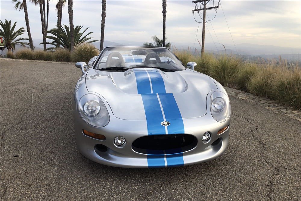 This 1999 Shelby Series 1 convertible signed by Carroll Shelby himself will be on offer at the Barrett-Jackson auction in Scottsdale.   Barrett-Jackson photos