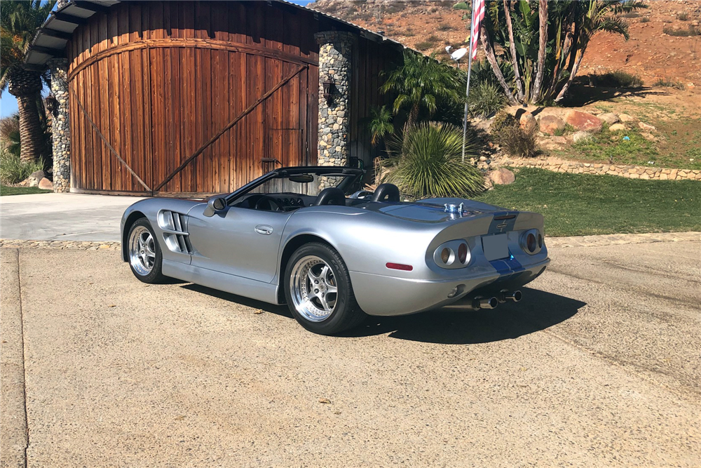 This 1999 Shelby Series 1 convertible signed by Carroll Shelby himself will be on offer at the Barrett-Jackson auction in Scottsdale. | Barrett-Jackson photos