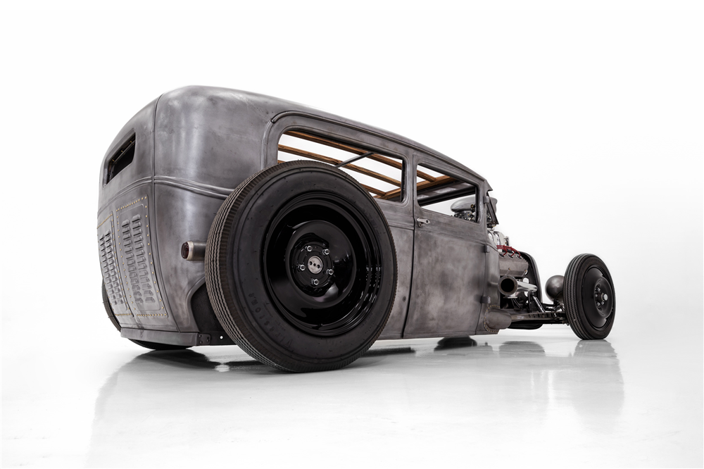 Seether bassist Dale Stewart will offer his custom Ford Model A built by Classic Car Studio at the upcoming Barrett-Jackson auction.   Barrett-Jackson photos