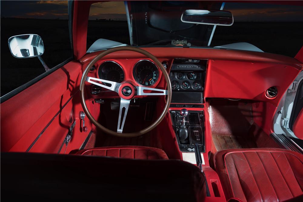Barrett-Jackson will offer this 1968 Chevrolet Corvette L88 at the upcoming Scottsdale auction. | Barrett-Jackson photos