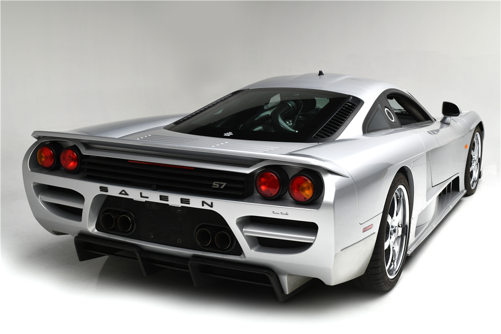 This speedy looking 2005 Ford Saleen S7 with twin turbos will be on the Barrett-Jackson block next month. | Barrett-Jackson photos