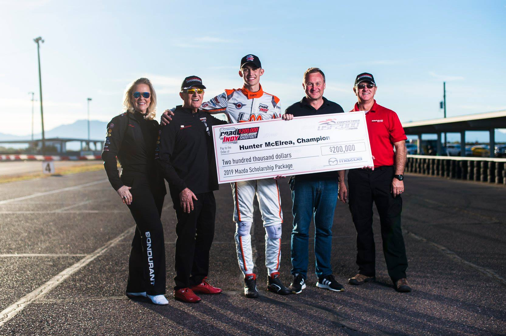 The school is still hosting events, including the recent Road to Indy $200,000 Scholarship Shootout. | Bob Bondurant School of High Performance Driving photo