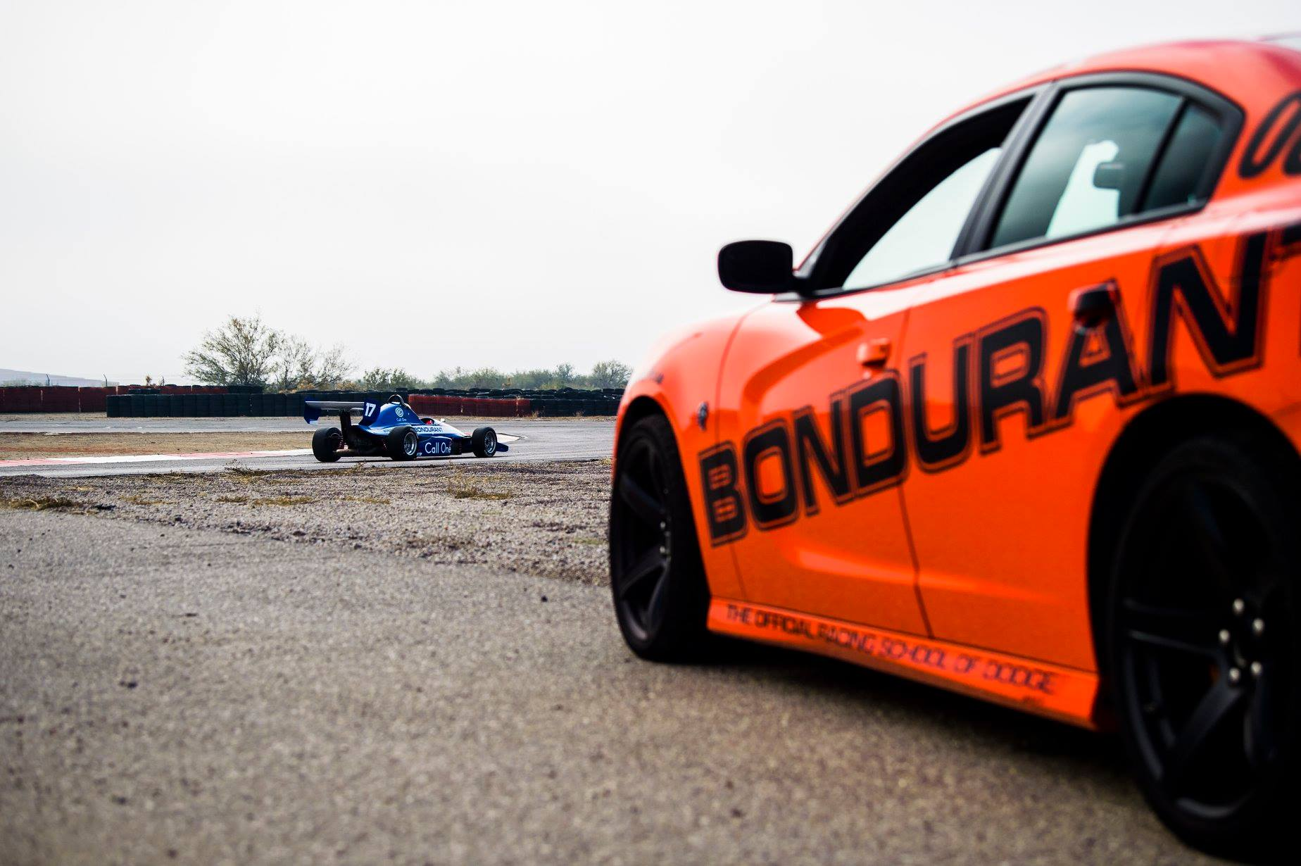 Shaffer's plan is to keep people driving on the school's track. | Bob Bondurant School of High Performance Driving photo