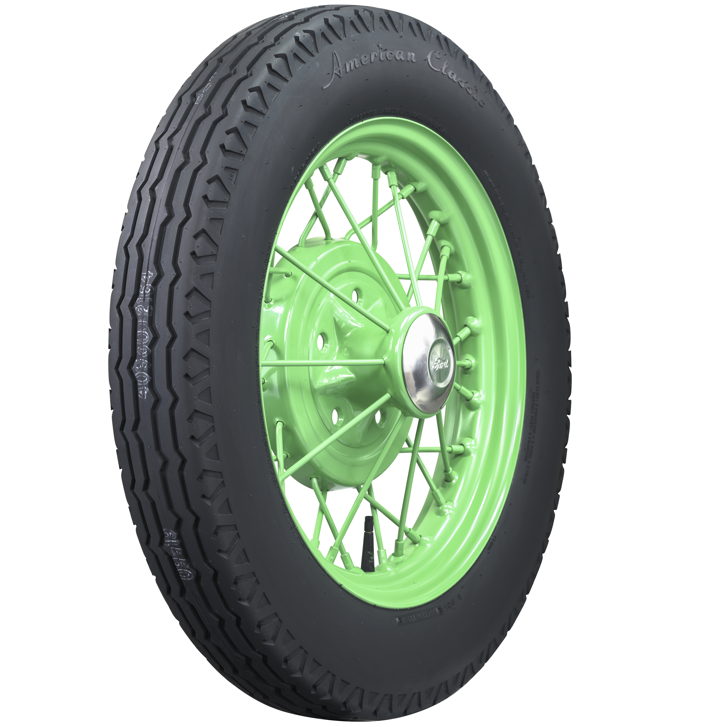 The tires will also be offered without the whitewall.