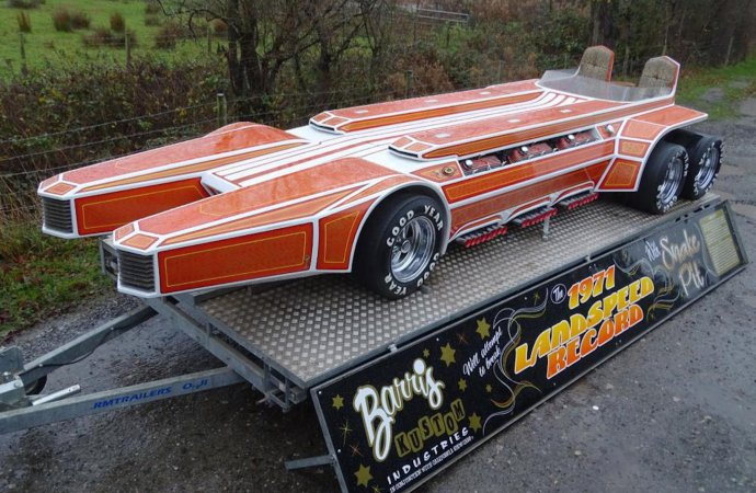 Barris' SnakePit consigned to online auction