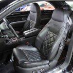 Bentley Brooklands seats