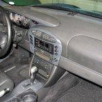 Blue Porsche Boxster interior