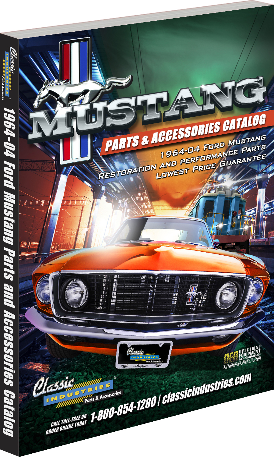 Happy holidays for owners of classic Ford Mustangs
