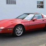 Corvette zr-1 front