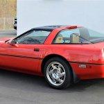 Corvette zr-1 rear side