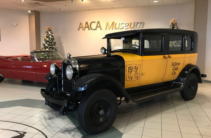 'Wonderful Life' movie taxi visits AACA Museum