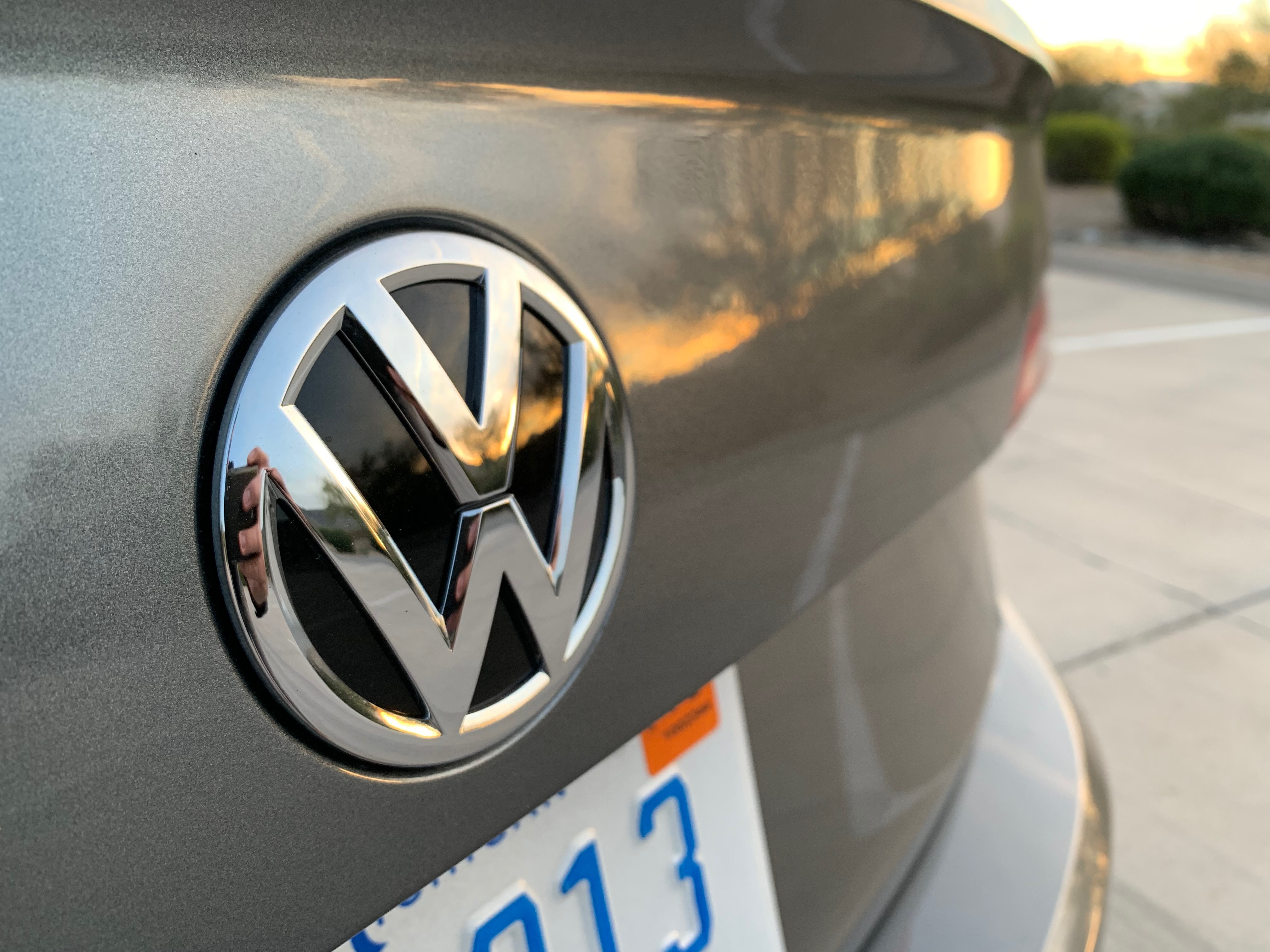 I always appreciate the VW logo, no matter what vehicle it's on. | Carter Nacke photo