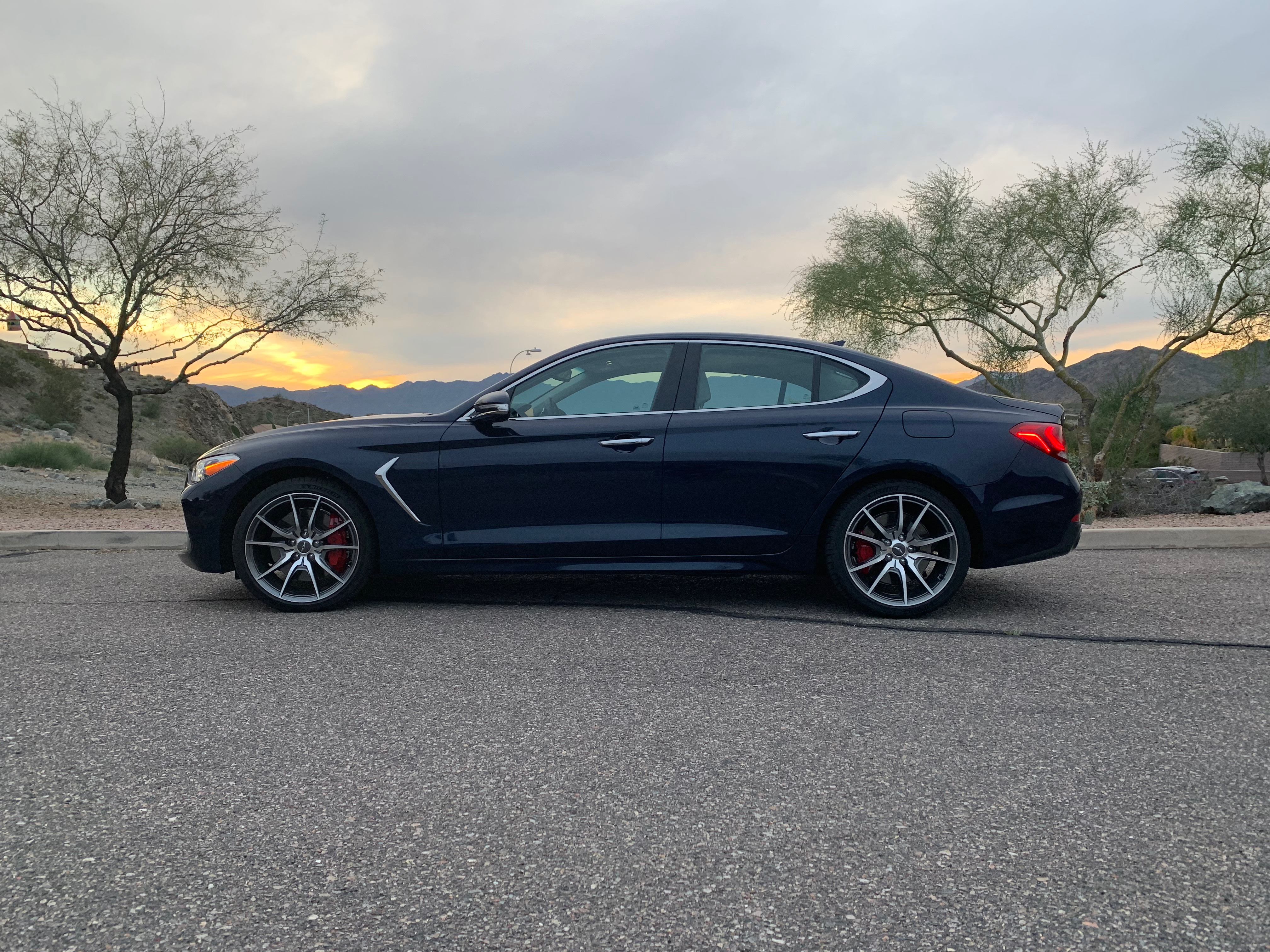 The Genesis G70 is set to make a deserved splash in the entry-level compact luxury sedan sector. | Carter Nacke photos