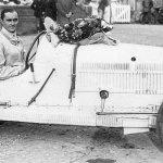Louis Chiron at Brooklands 1928 Bugatti