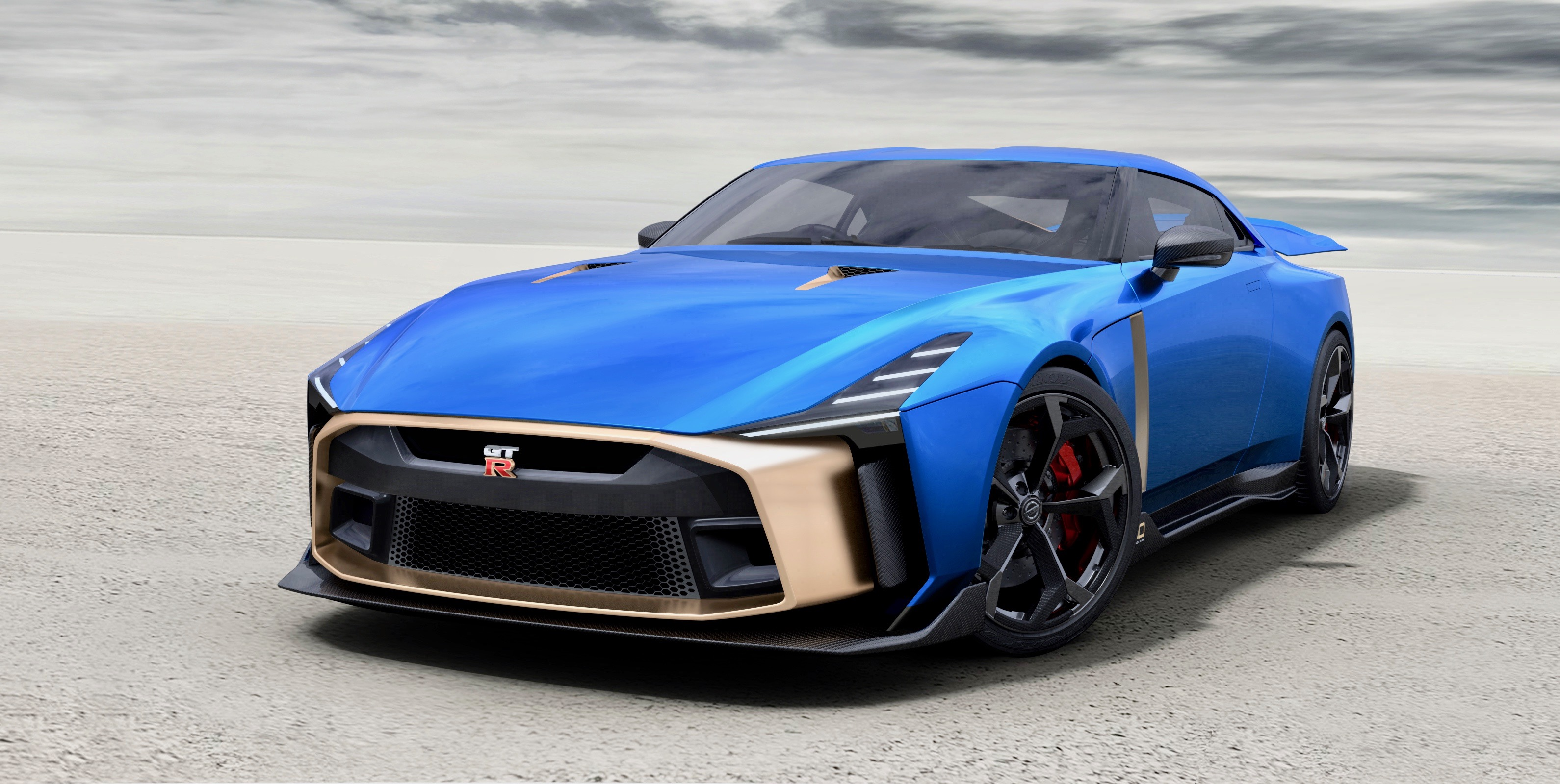 Here's what the $1.1M Nissan GT-R50 by Italdesign looks like