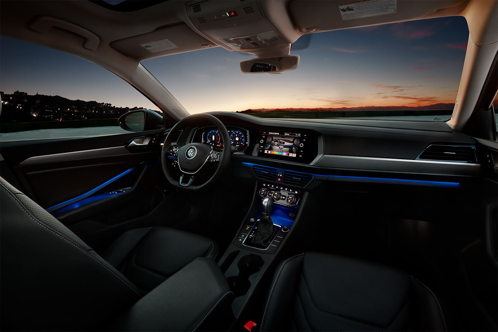 The interior of the S was fine, but I would have loved to see the higher level trims part of VW's ad campaigns.   Volkswagen photo