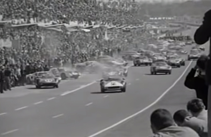 Actual footage from Le Mans was used in A Man and a Woman, but it wasn't just added for fun. One of the actor's relatives won the race multiple times. | Les Films 13 Screenshot