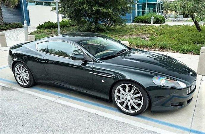 British exotic Aston Martin DB9