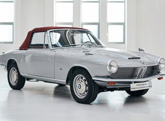 BMW's only surviving 1600 GT convertible is fully restored