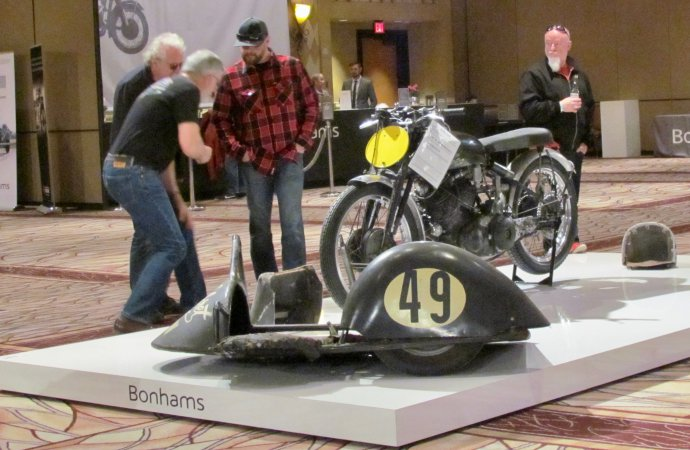 Record price paid in 2018 for a vintage motorcycle