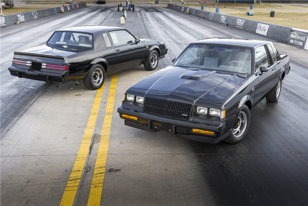 "After sitting in storage for more than 30 years, these two 1987 Buick Grand Nationals with sequential VINs – known as ""The Twinz"" – are headed to the Barrett-Jackson Scottsdale auction block. 